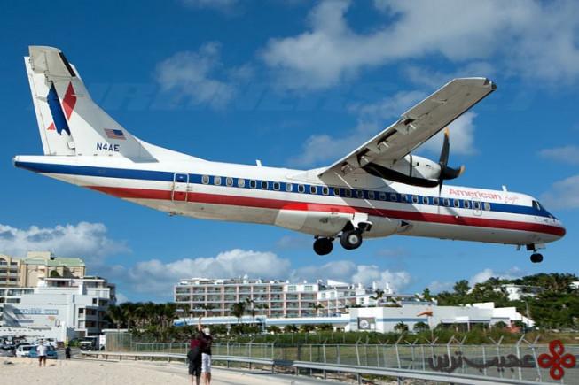 فرودگاه بین المللی شاهزاده جولیانا، سنت مارتین (st martin)
