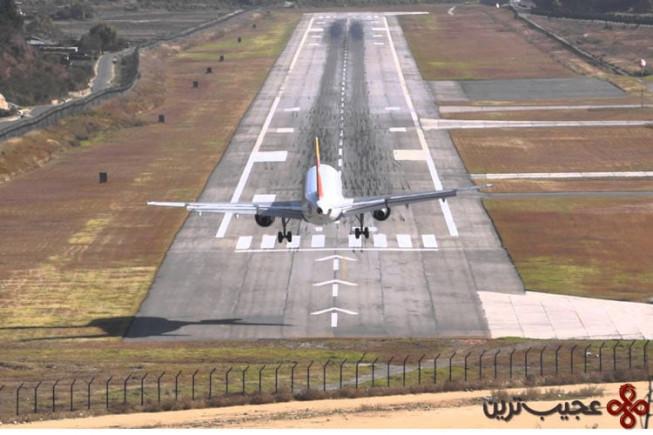فرودگاه پارو( paro)، بوتان1