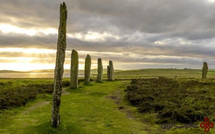 قلب دوران نوسنگی اورکنی، اسکاتلند (heart of neaolithic orkney, scotland)
