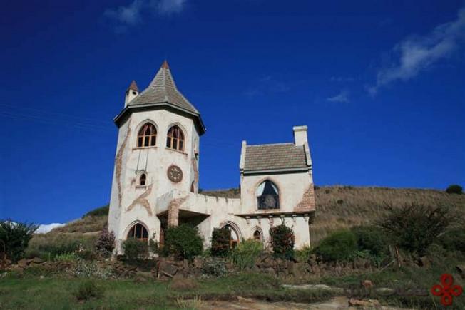 قلعهی شهر کلارنس (clarens)، آفریقای جنوبی