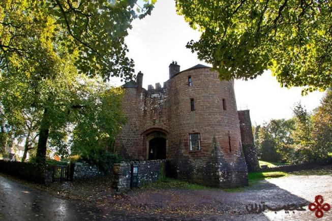 قلعه st briavels، انگلستان
