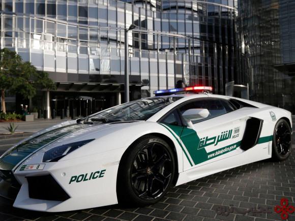 ماشین پلیس لوکس