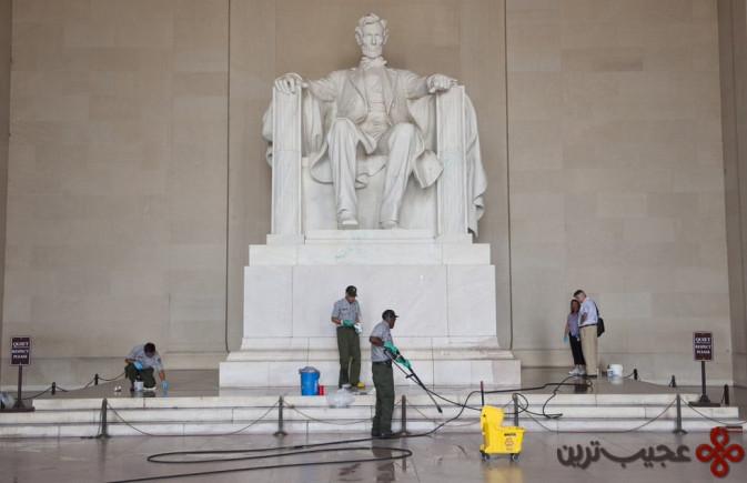 مجسمهی یادبود لینکلن