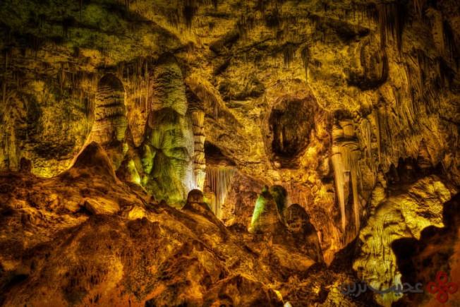 مجموعه غارهای carlsbad، نیو مکزیکو، ایالات متحده
