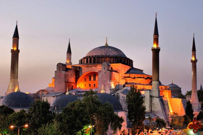 مسجد ایاصوفیه (hagia sophia)