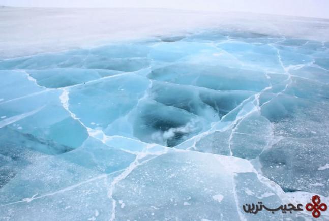 مسیر یخی tuktoyaktuk، کانادا