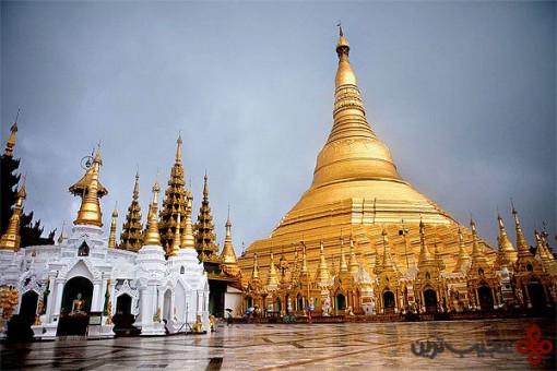 معبد شویدِگان پاگودا (shwedagon pagoda)، یانگون، میانمار