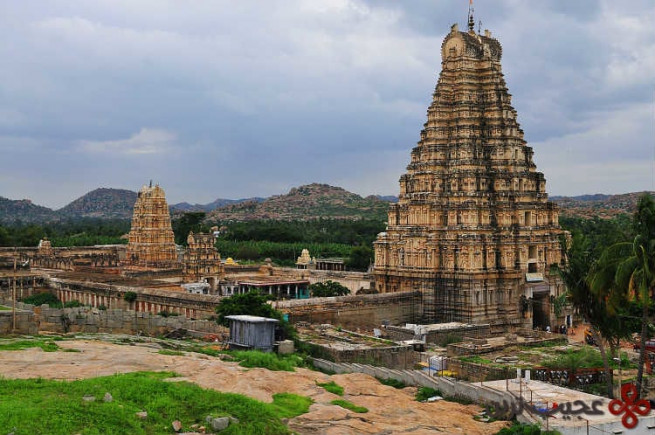 معبد ویروپاکشا (virupaksha)