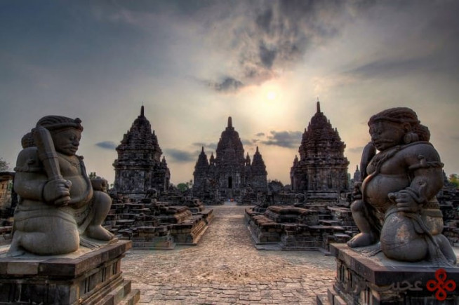 معبد پرامبنان (prambanan)، جاوای مرکزی، اندونزی