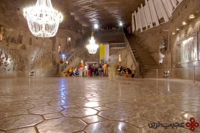 معدن نمک ویلِچکا (wieliczka)، ویلِچکا، لهستان
