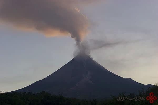 مونت مراپی (mount merapi) در اندونزی