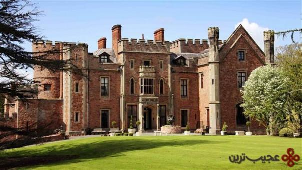 هتل قلعهای راوتن (rowton)، شروپشایر (shropshire)، انگلستان