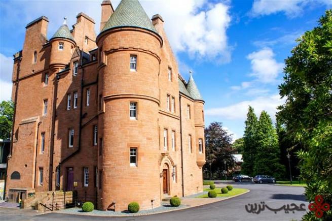 هتل قلعهای فانِب (fonab)، پیتلاکری (pitlochry)، اسکاتلند