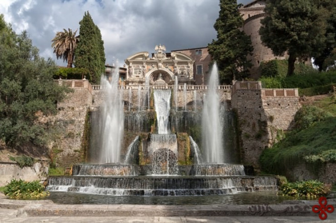 ویلا دِ اِسته (villa d'este)، تیوولی، ایتالیا