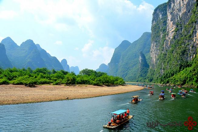 پارک ملی رودخانهی گوئیلین و لیجیانگ، چین