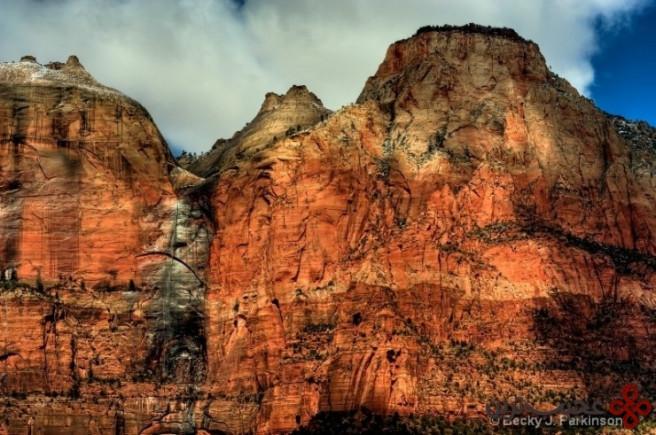 پارک ملی صهیون در یوتا، ایالات متحده آمریکا3