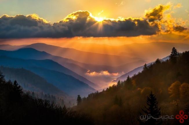 پارک ملی کوههای بزرگ اسموکی، ایالات متحده آمریکا