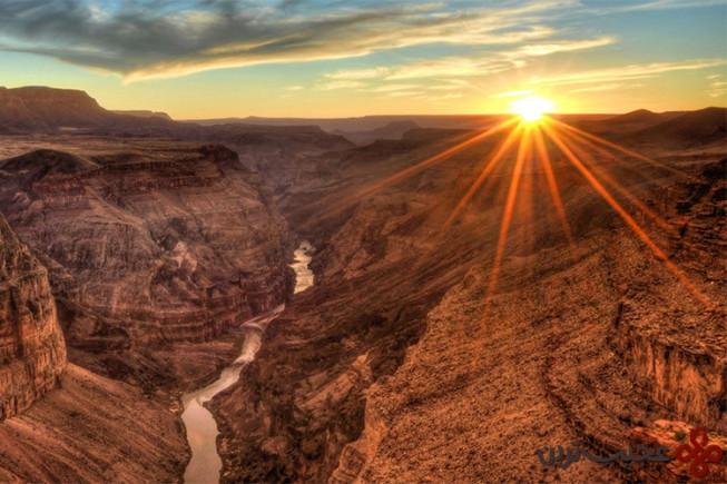 پارک ملی گرند کنیون، آمریکا