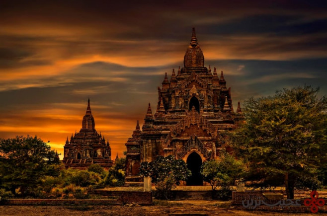 پاگان، منطقهی ماندالی، میانمار