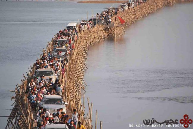 پل بامبو؛ کمبوجیه