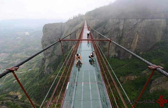 پل مردان شجاع؛ چین