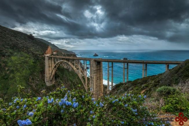 پل bixby، بیگ سور، کالیفرنیا، ایالات متحدهی آمریکا 1