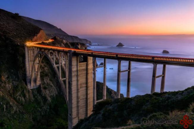 پل bixby، بیگ سور، کالیفرنیا، ایالات متحدهی آمریکا 3