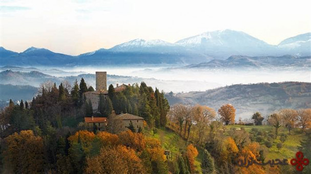 کاستلو دی پترویا (castello di petroia)، گوبیو (gubbio)، ایتالیا