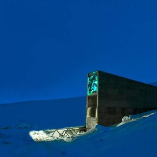 کاور بانک جهانی بذر (svalbard global seed vault)، نروژ