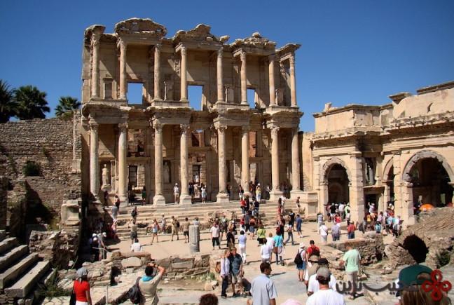 کتابخانهی سلسوس (library of celsus)