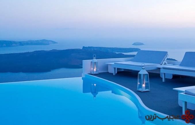 کرومتا آپ استایل هتل(chromata up style hotel)، سانتورینی، یونان