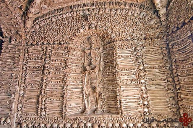 کلیسای استخوانها (capela dos ossos)