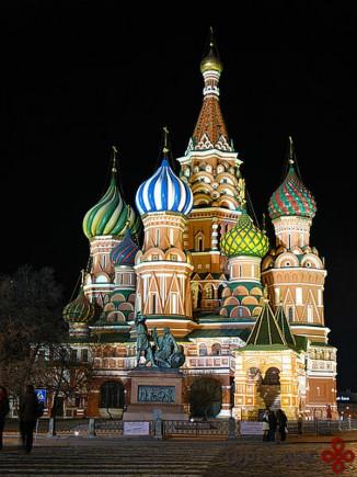 کلیسای جامع سَنت باسیل (st basil)، مسکو، روسیه