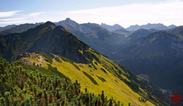 کوههای تاترا (the tatra mountains)