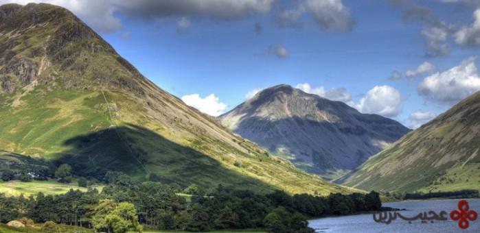 کوههای کامبرین (cambrian mountains)، ولز، بریتانیا