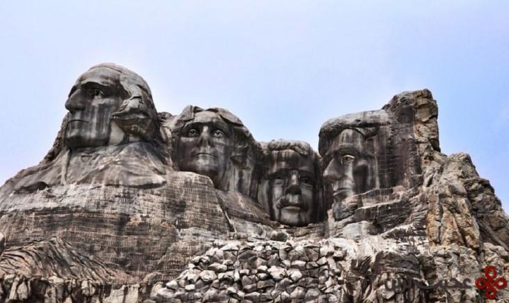 کوه راشمور (mount rushmore)
