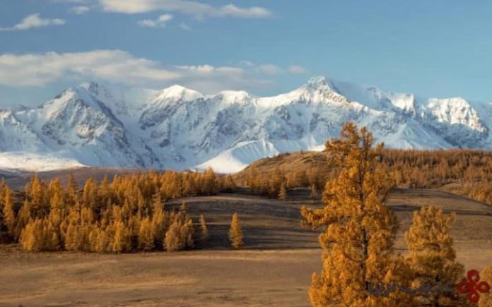 کوه های طلایی آلتای، روسیه (golden mountain of altai, russia)