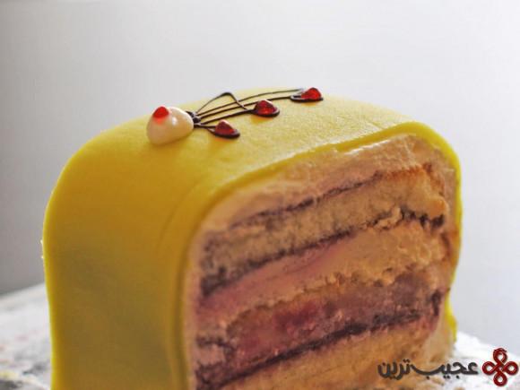 کیک پرنسس (prinsesstårta)