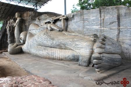 گال ویهارا بودا (پلننرووا، سریلانکا)