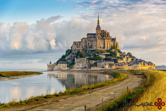 گیسو کمند (Tangled)، مونت سن میشل، نورماندی، فرانسه