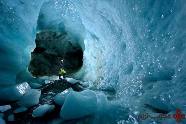 یخچالهای طبیعی گُرنر (gorner)، والی (valais)، سوییس