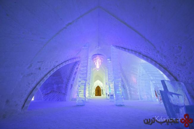 یخبسته، هتل یخی، کبک، کانادا