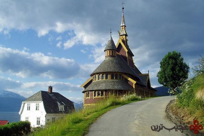 یخبسته (frozen)، کلیسای سنت اولاف (st olaf's church)، بالستِراند (balestrand)، نروژ3