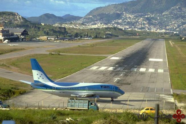 ۷ فرودگاه تانکونتین (toncontin)، تگوسیگالپا (tegucigalpa)، هندوراس1
