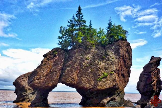 ۹ صخرههای hopewell