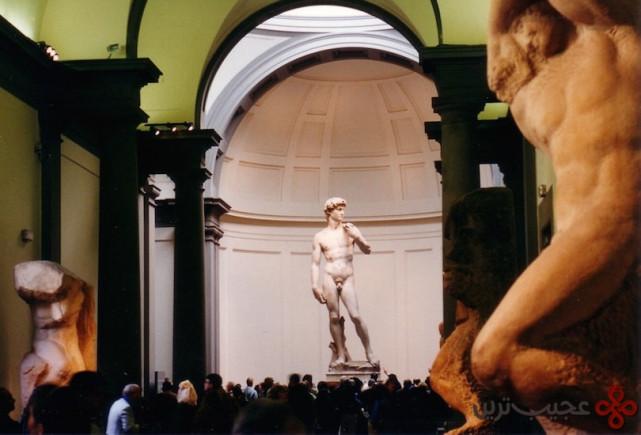 5مجسمه دیوید