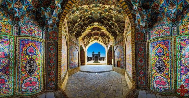 6مسجد نصیر الملک، شیراز، ایران