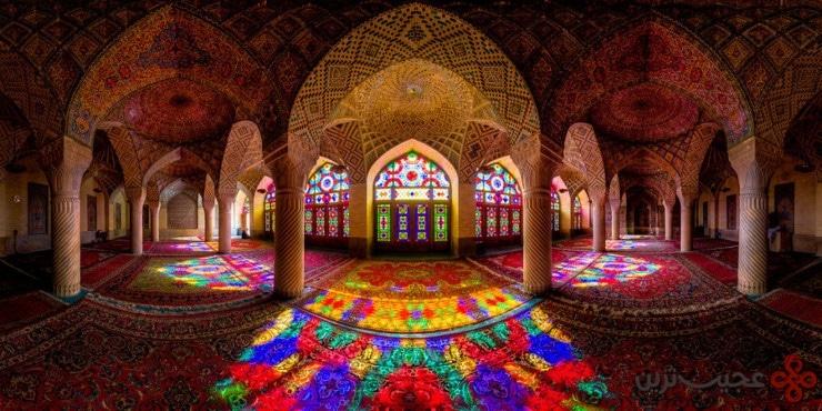 6مسجد نصیر الملک، شیراز، ایران1