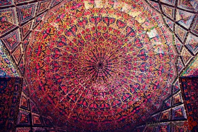 6مسجد نصیر الملک، شیراز، ایران2