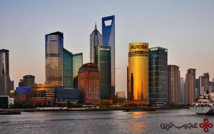 7مرکز مالی جهانی شانگهای